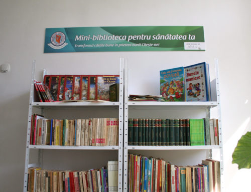 "The ""Mini-libraries for health"" arrived at the Pediatric Clinic nr. 2"