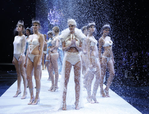 Jolidon Show at the Lingerie Saloon in Paris