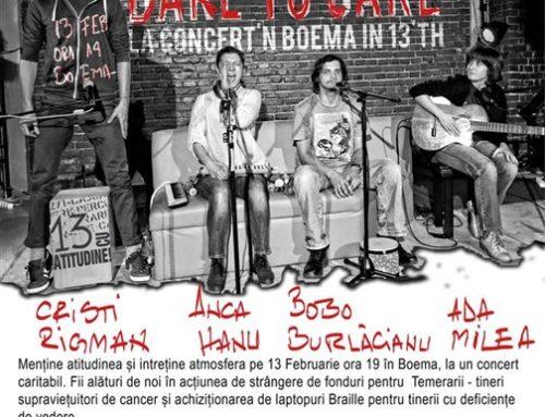 Concert aniversar Ada Milea pentru proiectul 13 CU ATITUDINE