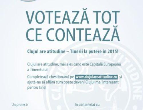 Clujul are atitudine – Tinerii la putere în 2015
