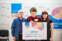 """Flaviu Bucur, elev la Liceul Teoretic """"Gheorghe Șincai"""" câștigător la categoria claselor a XI-a și a XII-a"""