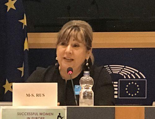 Antreprenoriatul feminin clujean, reprezentat la Parlamentul European, la Bruxelles, de Asociația Femeilor de Afaceri Cluj