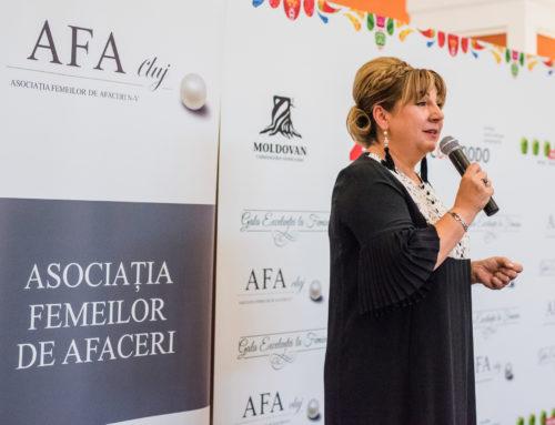 """AFA Cluj a premiat 7 personalități clujene excepționale la """"Gala Excelenței la Feminin 2018"""""""
