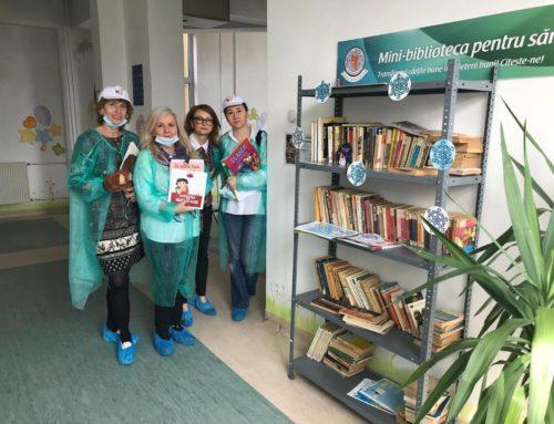 Ore de lectură, un dar pentru copiii internați în spitale din partea A.F.A. Cluj