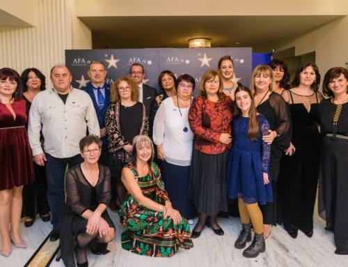 """Asociația Femeilor de Afaceri Cluj a premiat zece profesori excepționali  în cadrul Balului Caritabil """"10 de 10"""""""