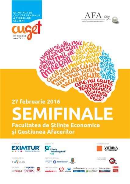 Olimpiada CuGeT, proiect în premieră inițiat de AFA Cluj,  își află sâmbătă finaliștii