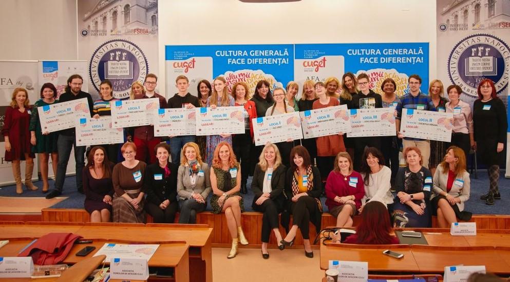 Olimpiada de Cultură Generală a Tinerilor Clujeni – CuGeT: peste 10.000 de tineri participanți în 2019